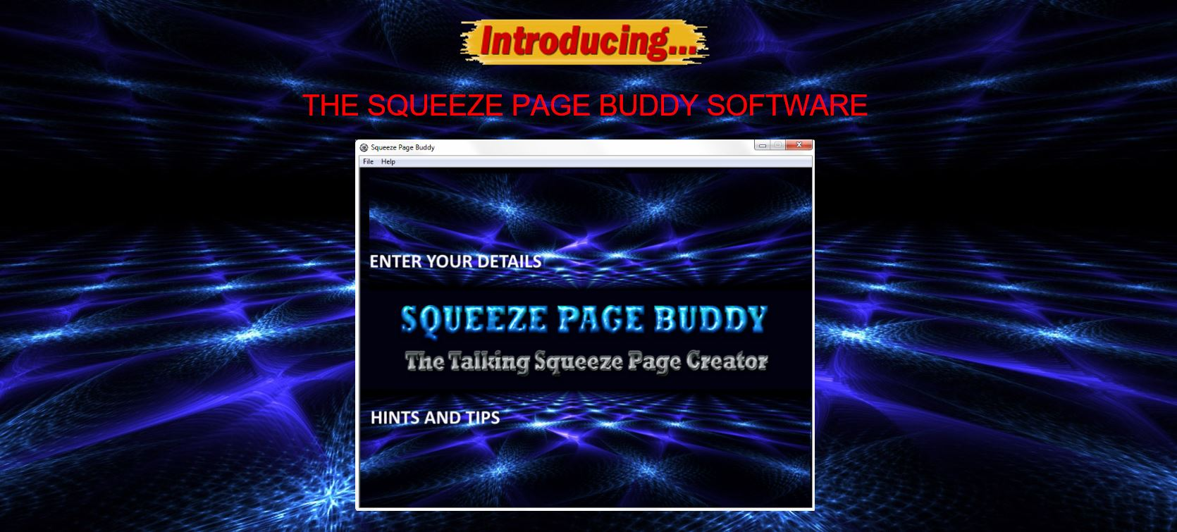 Free Talking Squeeze Page Buddy