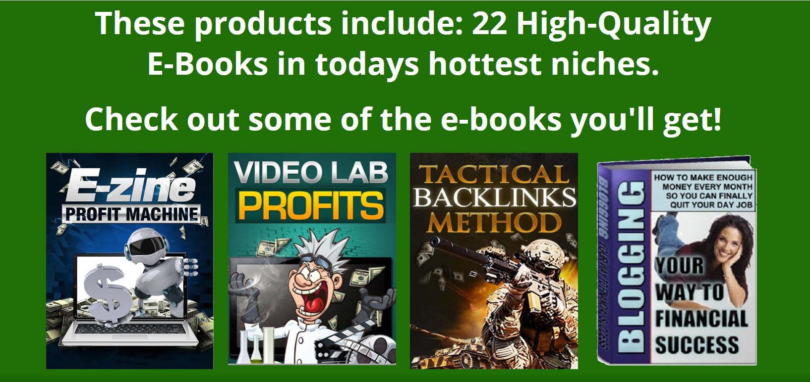 52 Hot Niche Internet Marketing Products