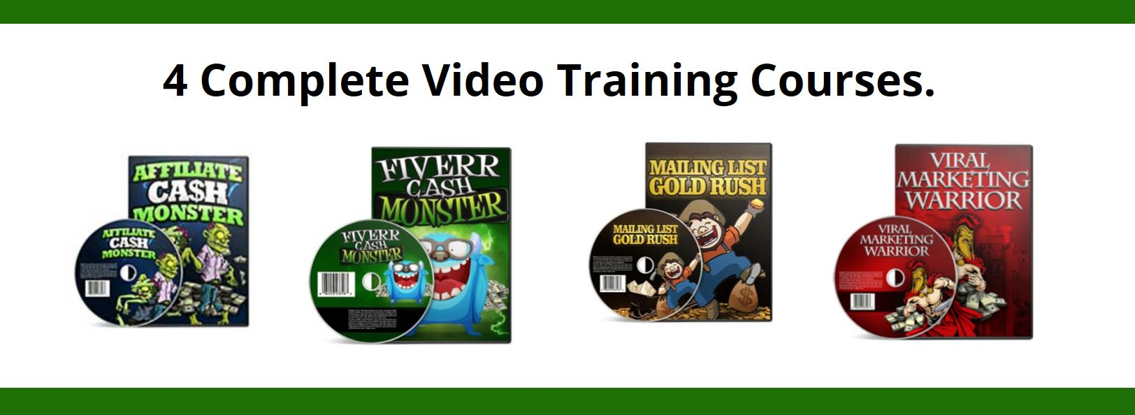 4 Complete Video Training Courses