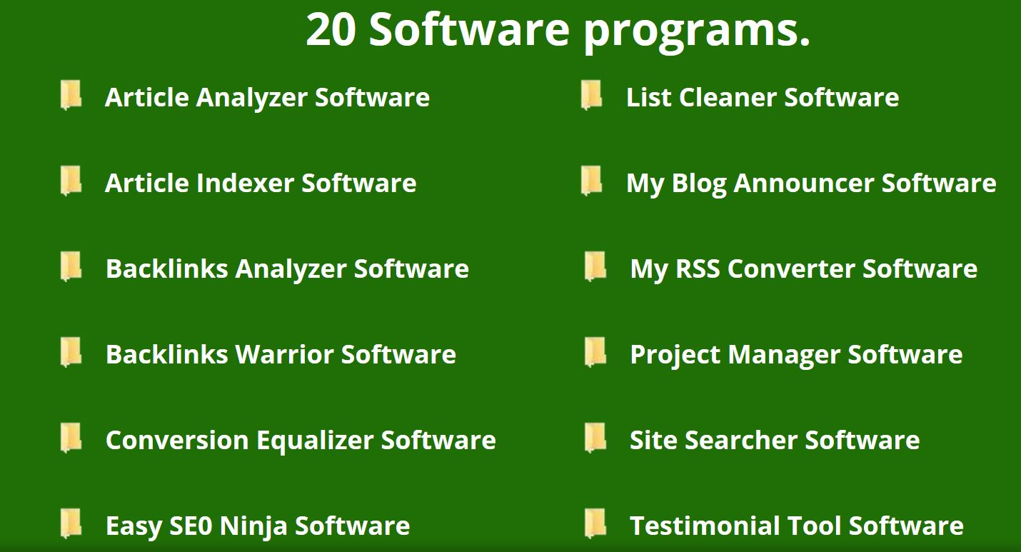 20 Software Programs