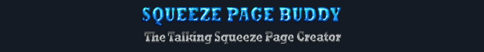 FREE Talking Squeeze Page Buddy Software