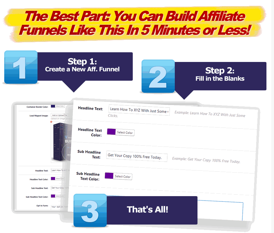 WP Affiliate Funnel Builder